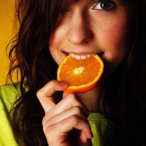 девушке можно кончить в рот с апельсинкой