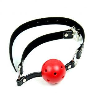 Кляп - красный шарик