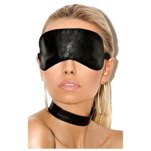Маска БДСМ: тканевая или кожаная повязка на глаза