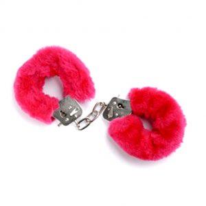 наручники бдсм розовые пушистые для фиксации и ролевых бдсм игр садо мазо вагинального орального и анального порно секса