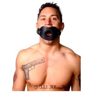Расширитель для рта: секс-игрушка БДСМ. Держит рост постоянно открытым. Для раба. Хозяин может вставить член в рот