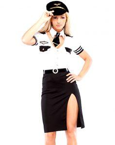 ролевой костюм пилота для ролевых игр во время секса траха и анала