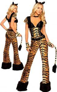 ролевой костюм женщины тигра для ролевых игр порно секса огразма и мастурбации