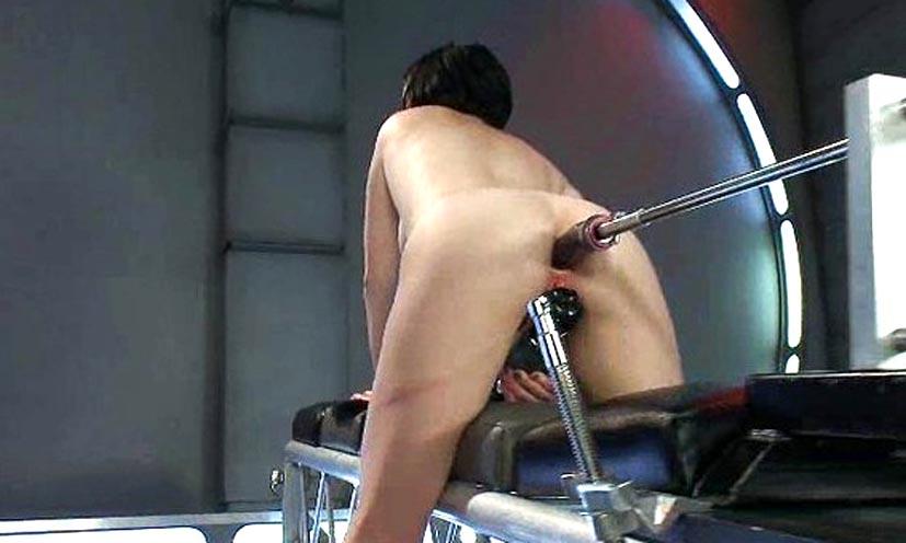 Жена с секс машиной