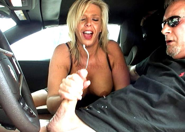 Back seat handjob