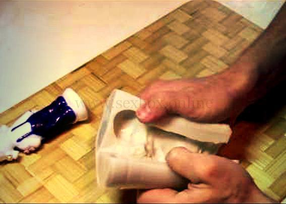Фото: как сделать слепок полового члена мужчины из гипса