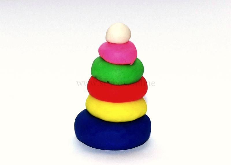 самодельная анальная секс-игрушка из пластилина
