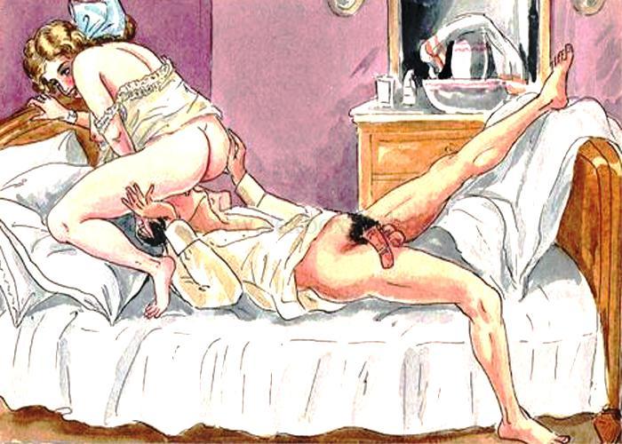 Эротические и секс историию БДСМ. Женщина села на парня сверху, он лижет ей киску.