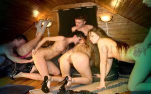 Что на свинг-вечеринках (дома, в сауне, на даче)?