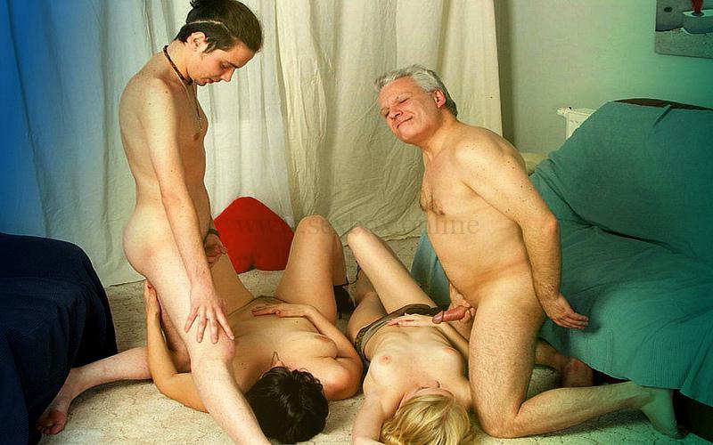 Фото: секс разновозрастных пар