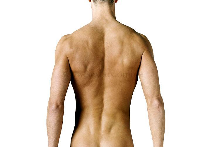 Эрогенная зона - спина