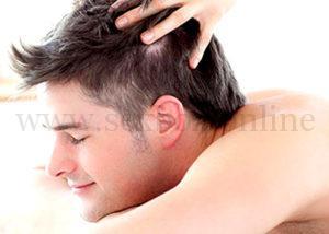 3.02 Как стимулировать эрогенную зону к мужчины. Поглаживание по росту волос.