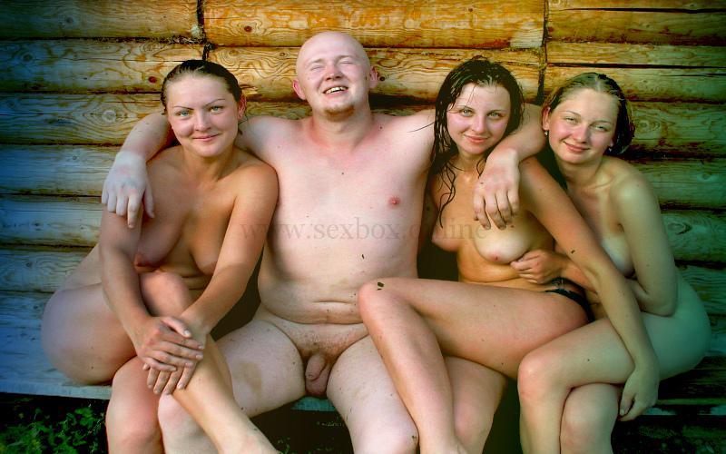 Шведская семья групповой секс